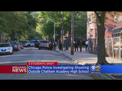 3 Students Shot Outside Chatham Academy School On Chicago's South Side