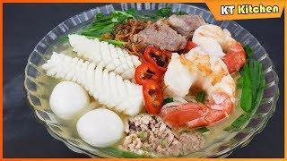 Best Vietnamese Seafood Noodle Soup in Instant Pot Recipe - Restaurant Style - ENGLISH CAPTION