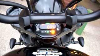 Motogadget Motoscope Mini Speedo on Victory Vegas