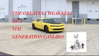 The Greatest Weakness Of A 5th Gen V6 Camaro