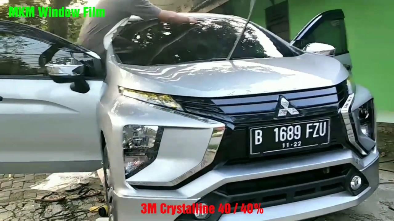 Pemasangan Kaca Film 3m Crystalline 40 Mobil Mitsubishi Xpander Depan Exceed