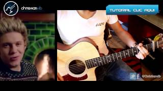 Night Changes ONE DIRECTION Acoustic Cover Guitar Tutorial Demo Christianvib
