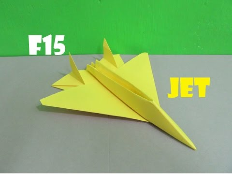 fulldownload origami paper planes how to fold a f15