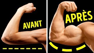 7 Exercices Géniaux Pour Développer de Gros Biceps Depuis Chez Toi