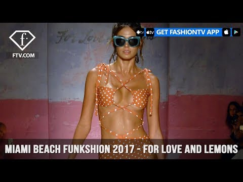 Miami Beach Funkshion 2017 - For Love and Lemons | FashionTV