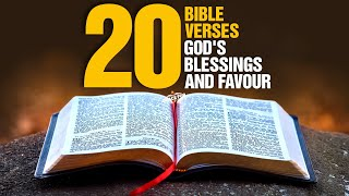 The Best Bible Verses For God's Favour and Blessings