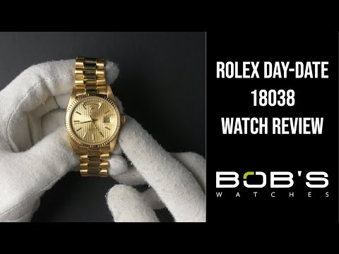 Rolex Day-Date 18038 | Bob's Watches