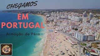 Armação de Pêra, uma linda PRAIA em PORTUGAL | BRAZIL OFF GRID
