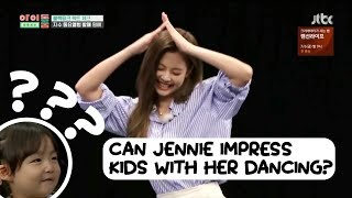 Jennie Dancing To Kids! | BLACKPINK FUNNY MOMENTS