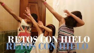 RETOS CON HIELO ft. Mi Hermana y Mi Prima // Eskevin Campos