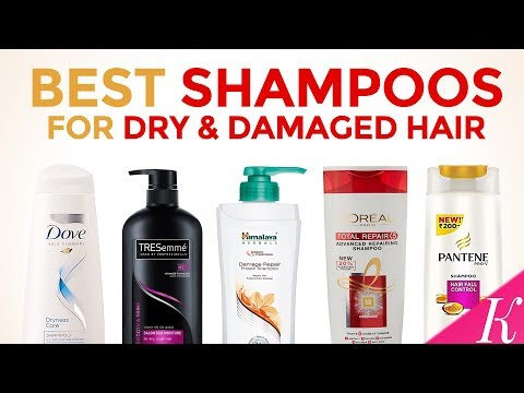 10 Best Shampoos For Dry & Damaged Hair In India With Price