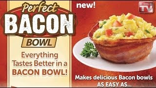 Video Perfect Bacon Bowl As Seen On TV download MP3, 3GP, MP4, WEBM, AVI, FLV Agustus 2018