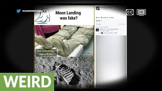 Conspiracy debunked: Why the moon footprint doesn't match