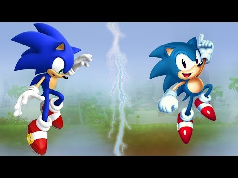 Sonic 4 vs Sonic Mania WITH FRIENDS
