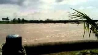 Rio Jamapa, gran descarga después de huracán Karl
