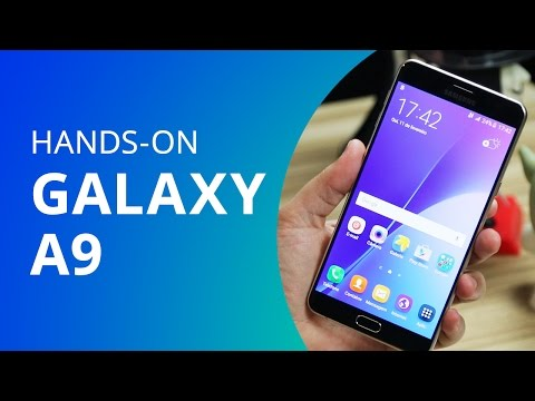 Samsung Galaxy A9 [Unboxing / Hands-on]