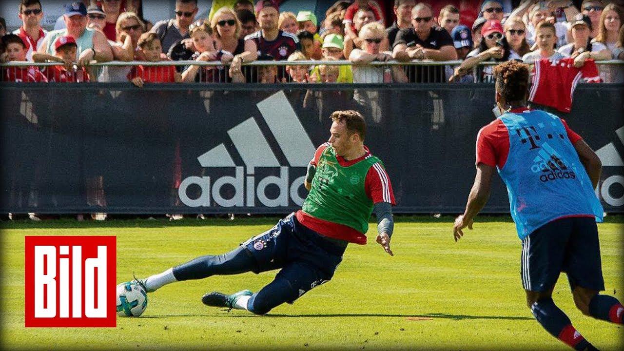 Fc Bayern öffentliches Training