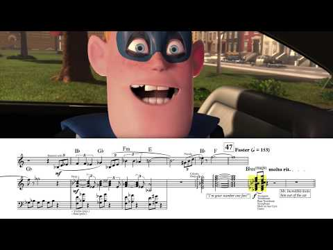 """[1/2] """"Opening Sequence"""" - The Incredibles (Score Reduction & Analysis)"""