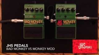 JHS Monkey Mod vs Digitech Bad Monkey Overdrive