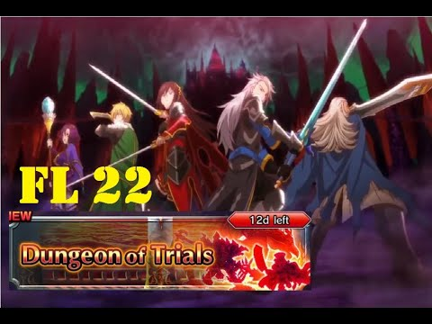 Dungeons of Trials - Floor 22 - Grand Summoners