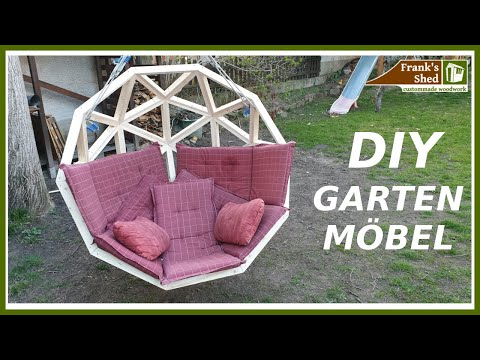 Der ULTIMATIVE Lounge Sessel | Gartenmöbel selber bauen | Franks Shed DIY