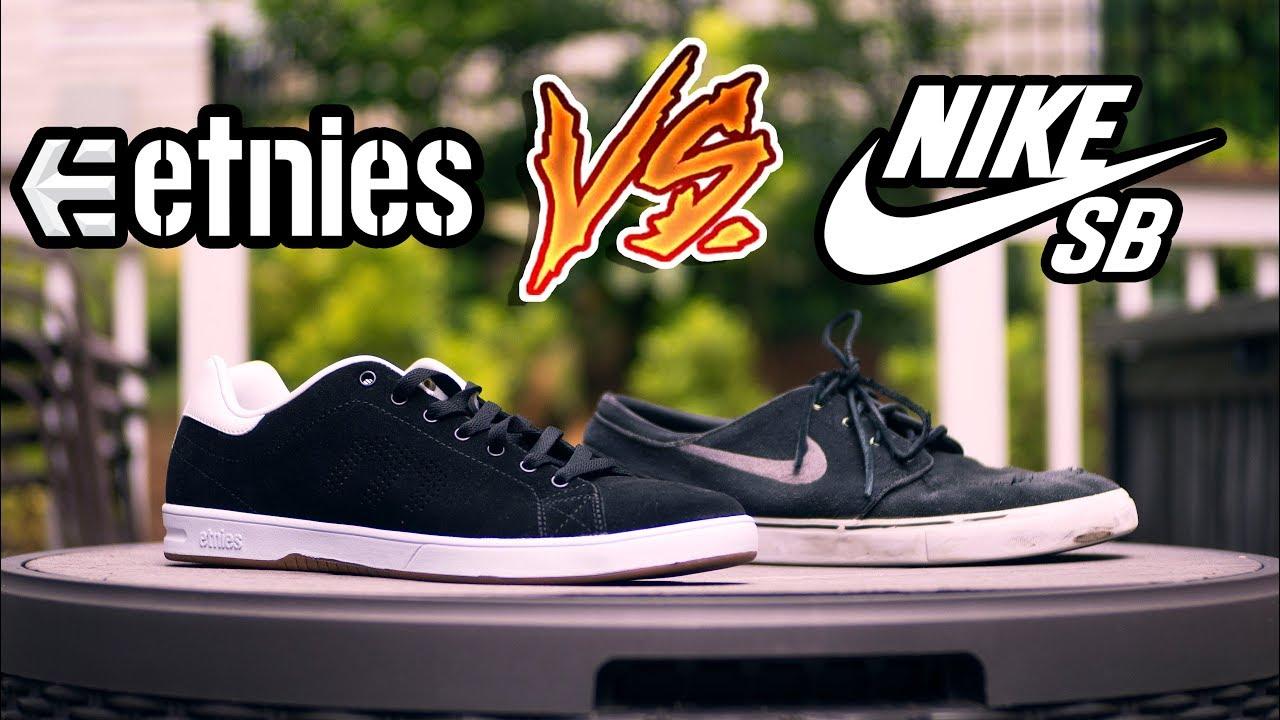 Nike SB vs Etnies | Etnies Callicut LS