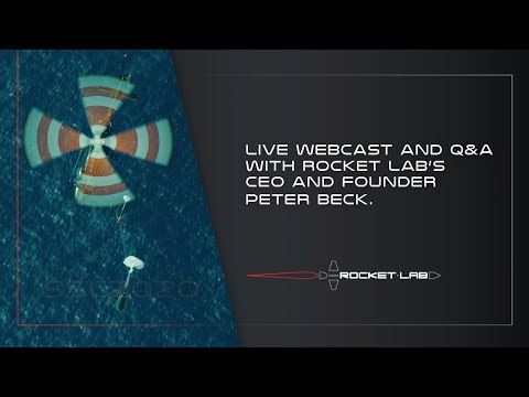 Rocket Lab SmallSat Update and Q&A