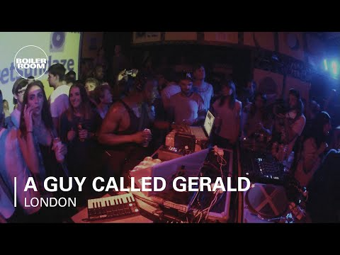 A Guy Called Gerald Boiler Room  Show