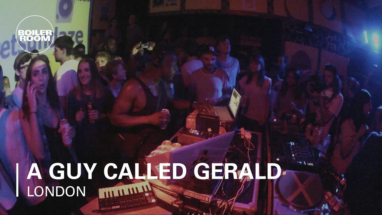 Download A Guy Called Gerald Boiler Room LIVE Show