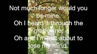I Heard it Through the Grapevine-lyrics
