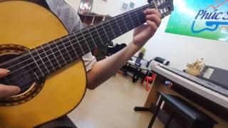 [classical guitar] ĐÊM THẤY TA LÀ THÁC ĐỔ play by NGUYỄN VĂN PHÚC