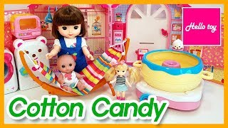 Baby dolls and Cotton candy ma…