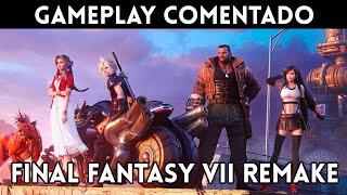 GAMEPLAY español FINAL FANTASY 7 REMAKE (PS4) ¿El MEJOR remake de la HISTORIA?