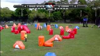 2013 NCPA College Paintball Champs Prelims - University of Connecticut vs. Ohio State