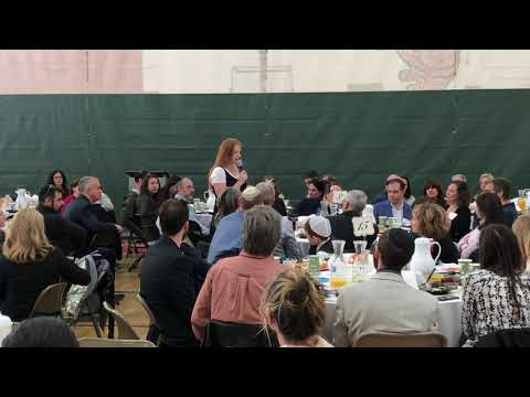 Denver Jewish Day School 11th Grader Jori Goldberg - Speaking at Chai Five Club 2019