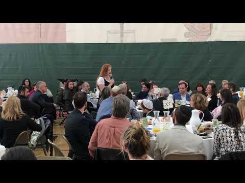 Denver Jewish Day School 11th Grader Jori Goldberg - Speaking at Chai Five Club 2019