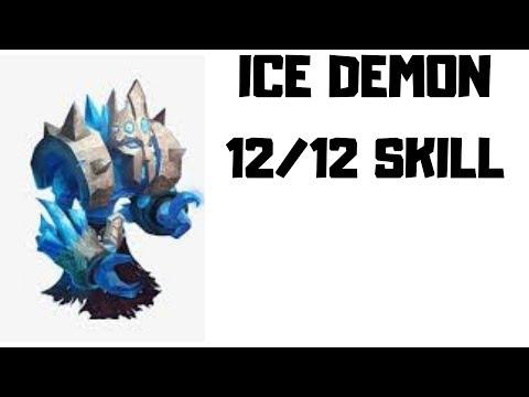 Ice Demon | 12/12 Skill | CASTLE CLASH
