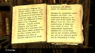 A Brief History of the Empire - Volume 2 - Skyrim Books