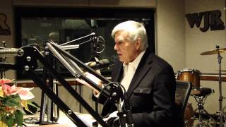 John Davidson (The Wizard) from WICKED visited WJR