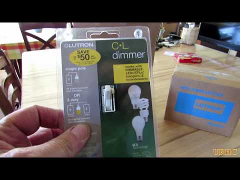 Replacing Old Dimmers That Make LED Bulbs Flicker