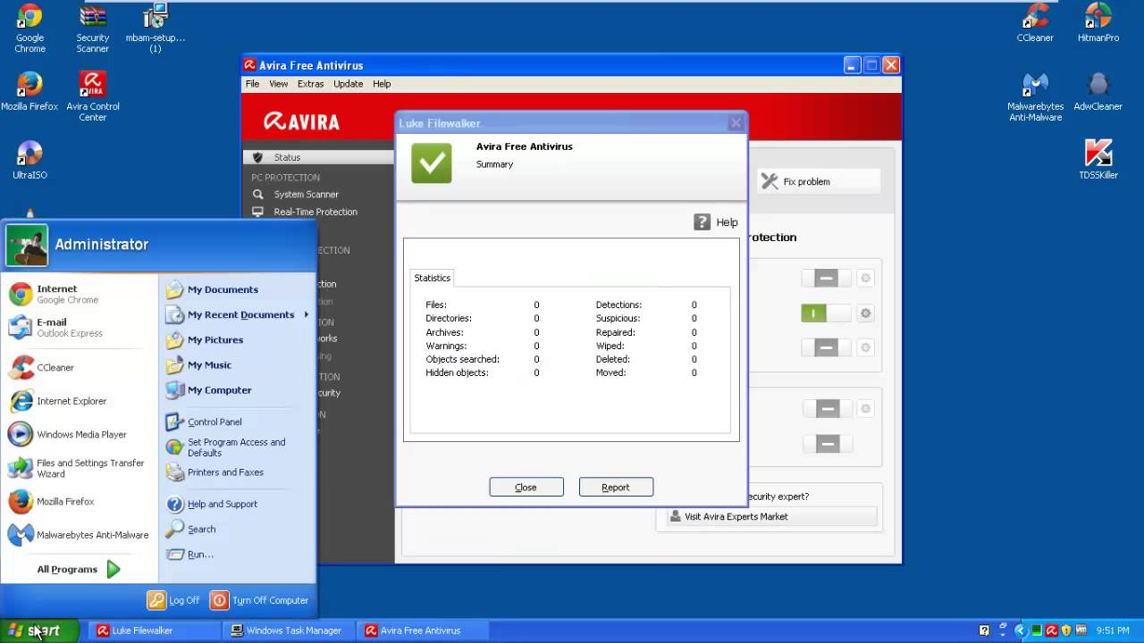How to download and install Avira Anti virus