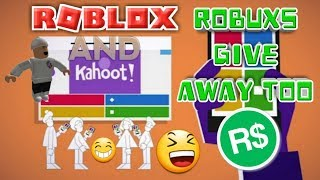 🔴ROBUXS GIVEAWAY/Kahoot And Roblox Live Stream #49🔴COME JOIN AND HAVE FUN