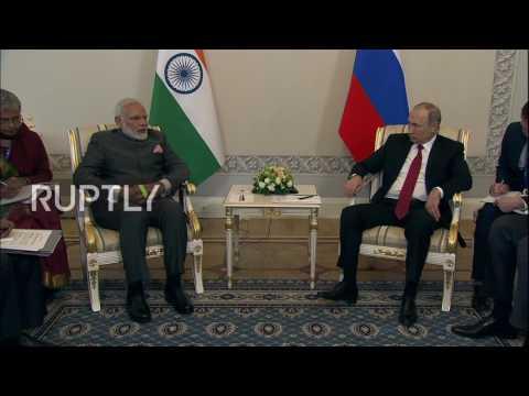 Russia: Putin congratulates Modi on India's Shanghai Cooperation Organisation accession