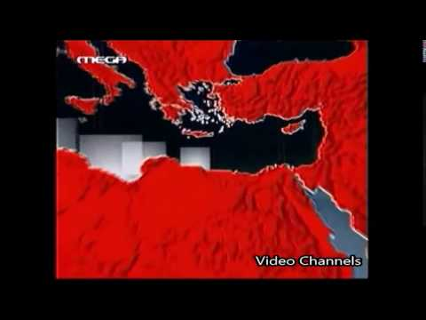 Mega TV (Greece) intro δελτίου ειδήσεων 2003-14