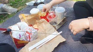 주말 공원 피크닉|오트밀버섯리조또|향라육슬,양꼬치,지삼…
