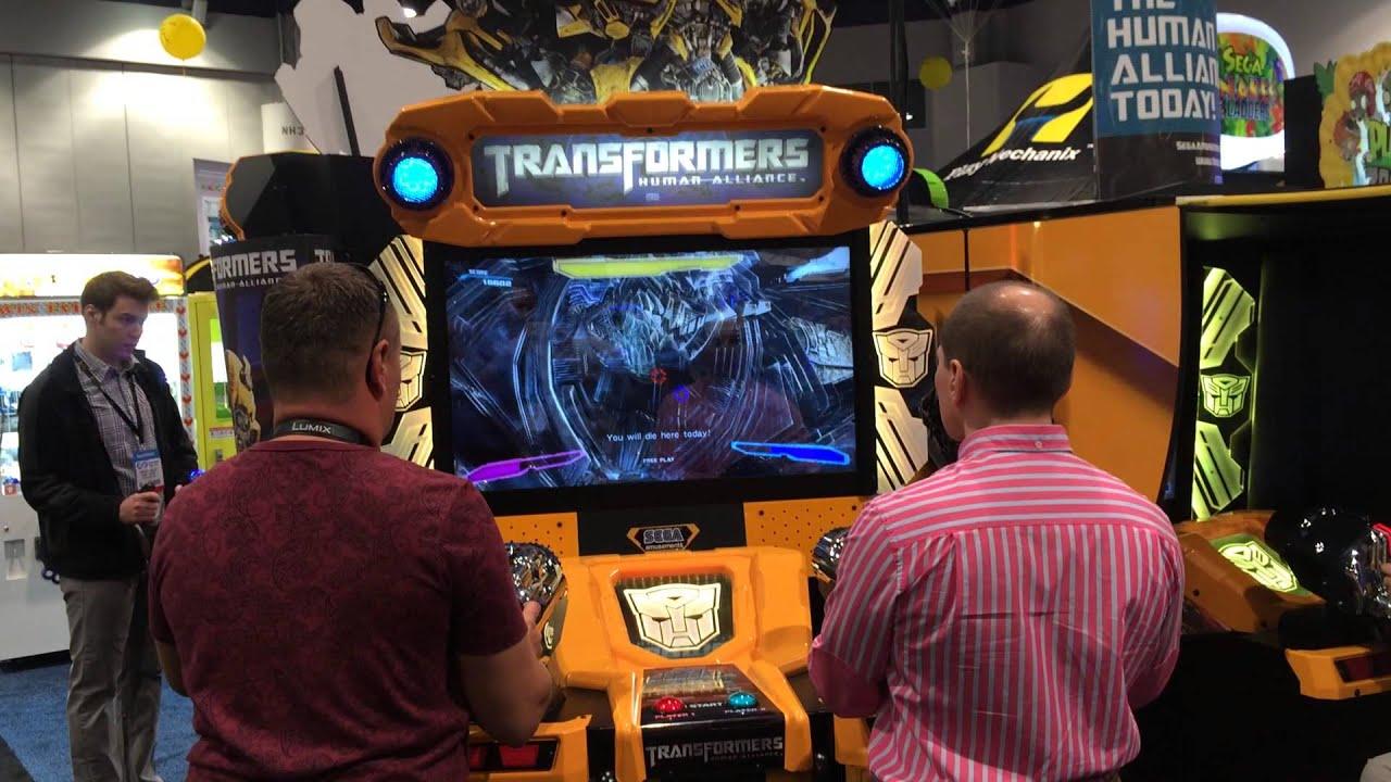 Transformers Human Alliance (Arcade) (2013) - YouTube