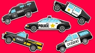Kids Play Time | Police Vehicles | Emergency Vehicles | Cartoon Car For Children | Educational Video