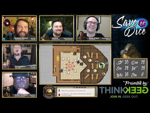 Save or Dice | Finale - The Final Curtain | Web DM, Nerdarchy, Taking20, DawnforgedCast