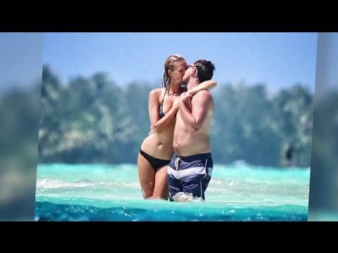 Leonardo DiCaprio and Model Girlfriend Toni Garrn Get Romantic in Bora Bora | Splash News TV