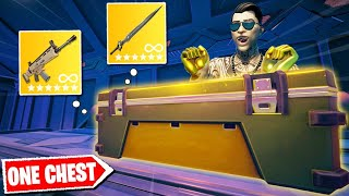 Fortnite Except I can only use ONE Mothership Chest